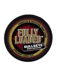 Fully Loaded Chew Straight Bullseye Long Cut - Nicotine Free Chewing Alternative