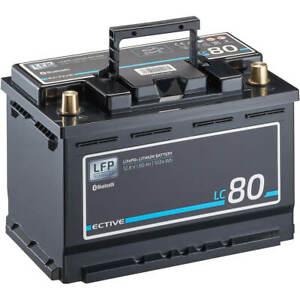 Lithium Solarbatterie LiFePO4 12V 80Ah BMS Akku Solar Batterie Wohnmobil LFP BT