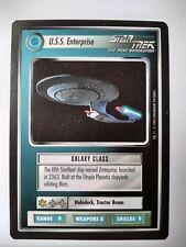 Star Trek ccg M/NM Limited Premiere U.S.S. Enterprise