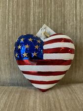 "Christopher Radko ""Brave Heart"" Patriotic Ornament"