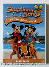 Sing Along Songs Disney World Music Karaoke DVD Blizzard Beach Shark Reef Etc.
