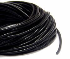 Kautschukband 1m-5m 2,24€//m 7mm schwarz Kautschukschnur Synthetisch
