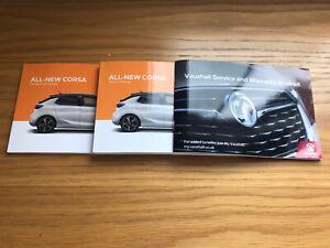 Vauxhall Corsa F Book Pack