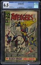 Avengers (1963) #48 CGC 6.5 Blue Label Cream To Off-White Pages 1st Black Knight