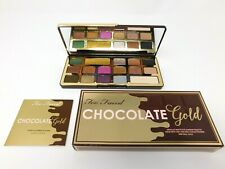Too Faced Chocolate Gold metallic/matte Eye shadow Palette AUTHENTIC!!! NIB