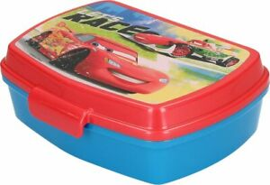 Cars Rosso LUNCH BOX scatola colazione porta PRANZO MERENDA sandwich scuola