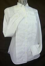 THOMAS MASON for J. CREW WOMEN'S COTTON TUXEDO SHIRT WHITE SIZE 2 Retail $158