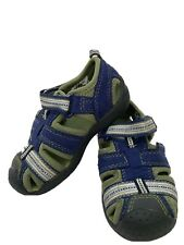 Toddler Pediped Boys Sandals Blue Green Size US 5.5