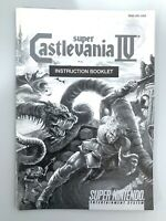 Castlevania IV SUPER NINTENDO SNES GAME INSTRUCTION MANUAL BOOKLET BOOK ONLY