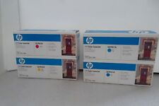 LOT-4 HP 122A Toner Cartridges C/M/Y 2550 2840 4K Pages Q3961A Q3962A Q3963A NEW