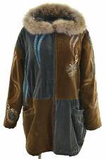 ICEBERG Womens Parka Jacket Size 10 Small Multi Cotton  J214