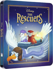 The Rescuers Limited Edition Steelbook Bluray UK Exclusive Region B NEW SEALED