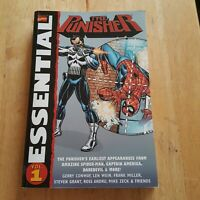 Essential The Punisher Volume 1 Marvel Comics TPB  HUGE