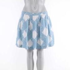 Normalgröße Damenröcke im A-Linie-Stil aus Leinen