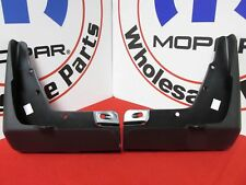 DODGE CHARGER Deluxe Molded  Front Splash Guards NEW OEM MOPAR