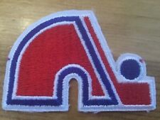 """QUEBEC NORDIQUES WHA NHL HOCKEY 3 """" IRON ON PATCH"""