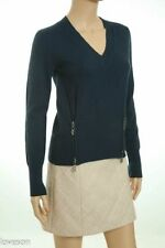 Merino Wool V-Neck Regular Size XS Sweaters for Women