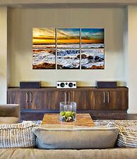 Canvas Prints Beach - Ocean Wave Canvas Art - Office Wall Décor - Art Prints