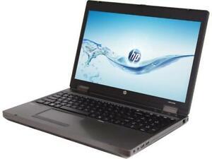 "HP Business Laptop 15.6"" i7 Quad Windows 10 Pro Office 2019 Pro 2TB SSD 16GB RAM"