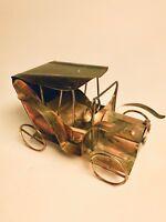 "Music Box Retro Car HAPPY DAYS Berkeley Designs Metal Brass Copper 6""x4"""