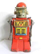 """TIN TOY ROBOT CRAGSTAN / YONEZAWA """"TALKING ROBOT"""" MADE IN JAPAN 1960'S"""