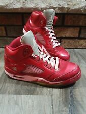 Nike Air Jordan 5 V Retro Red Valentine Day Size 6.5Y 440892 605 Pink Red 2012