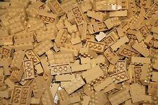 200 TAN 2x4 Building blocks, Compatible to Lego 2x4 Bricks 3001 Bulk Lot Deal!