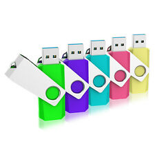 5 XUSB 2.0 5Colors Memory Storage Flash Pen Drives Rotating USB Flash Drives 32G