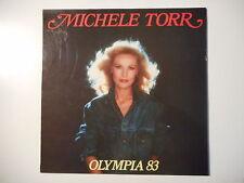 MICHELE TORR : OLYMPIA 83 - ENTREE DES ARTISTES ► LP 33t. ◄