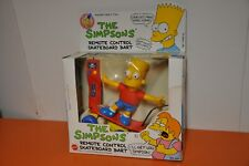 """The SIMPSONS """"REMOTE CONTROL SKATEBOARD BART""""(MIB) by MATTEL/1990"""