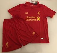 New Balance HOME LIVERPOOL FC KIDS Football Kit AGE 6-7 BRAND NEW with tags