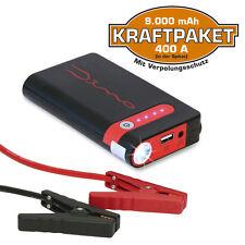 Dino Kraftpaket Starthilfe Schnellstart Gerät Powerbank Batterie 9.000 mAh 400A