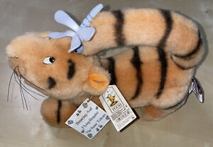 Disney ~ GUND Classic Pooh Tigger Plush w/ Dragonfly On Tail ~ Collectible ~ NWT