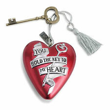 Art Hearts by Demdaco - KEY TO MY HEART - #AH-ORNP-046