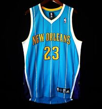 100% Authentic Anthony Davis Adidas Hornets Away Jersey Size 40 M L