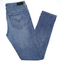 Levi Demi Curve Skinny Womens Denim Jeans Size 8/29 Blue