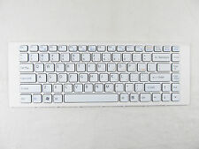 "for SONY VAIO VPC-EA 14"" WHITE US KEYBOARD V081678F 148792421 V11678A With Frame"