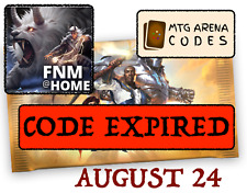 MTG Arena code card FNM  Midweek Magic Promo Pack August 24 - INSTANT EMAIL-