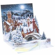 Pop-Up Christmas Card Trearures by Popshots Studios - Midnight Village