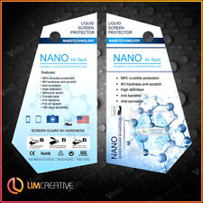 BUY 1 GET 1 FREE 9H Nano Liquid Glass Screen Protector iPhone Samsung Galaxy HOT