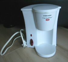 White Black & Decker Cup at a Time Coffeemaker filter coffee machine Individual
