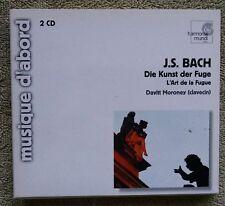 Bach Davitt Moroney Die Kunst der Fuge L'Art la Clavecin Harmonia Mundi 2-CD