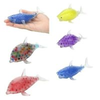 Spongy Fish Bead Stress Ball Toy Squeezable Stress Toy Stress Relief Balls