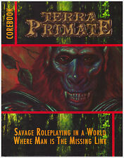 Terra Primate: hardcover core book - Science Fiction Rpg - Planet of the Apes