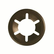 Genuine Starlock Retaining Push on Washers for Round Shafts 10mm pack of 10