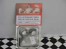 Nsr Tuning Repuestos neumáticos Supergrip truck/vintage 28x14 17mm Slick Trasero 5224 Bnip