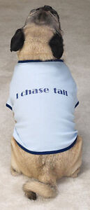 ADORABLE I CHASE TAIL DOGGY T-SHIRT