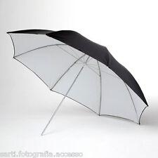 OMBRELLO RIFLETTENTE bianco/nero 101cm (40'') Phottix®