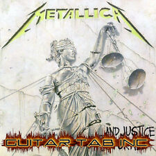 Metallica Digital Guitar & Bass Tab ...AND JUSTICE FOR ALL Lessons Disc Hammett