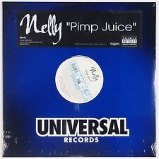 "NELLY: Pimp Juice UNIVERSAL Rap 12"" Single SEALED ORIGINAL"